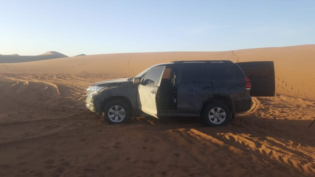 4x4 Toyota car for morocco desert private tours
