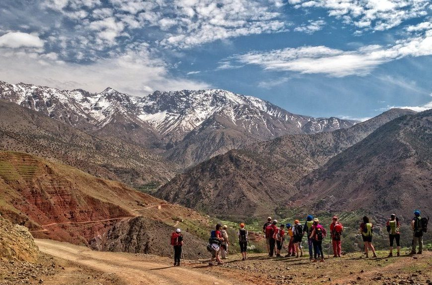 Morocco hiking tour of 6 days in Morocco and Dades and High Atlas Mountains