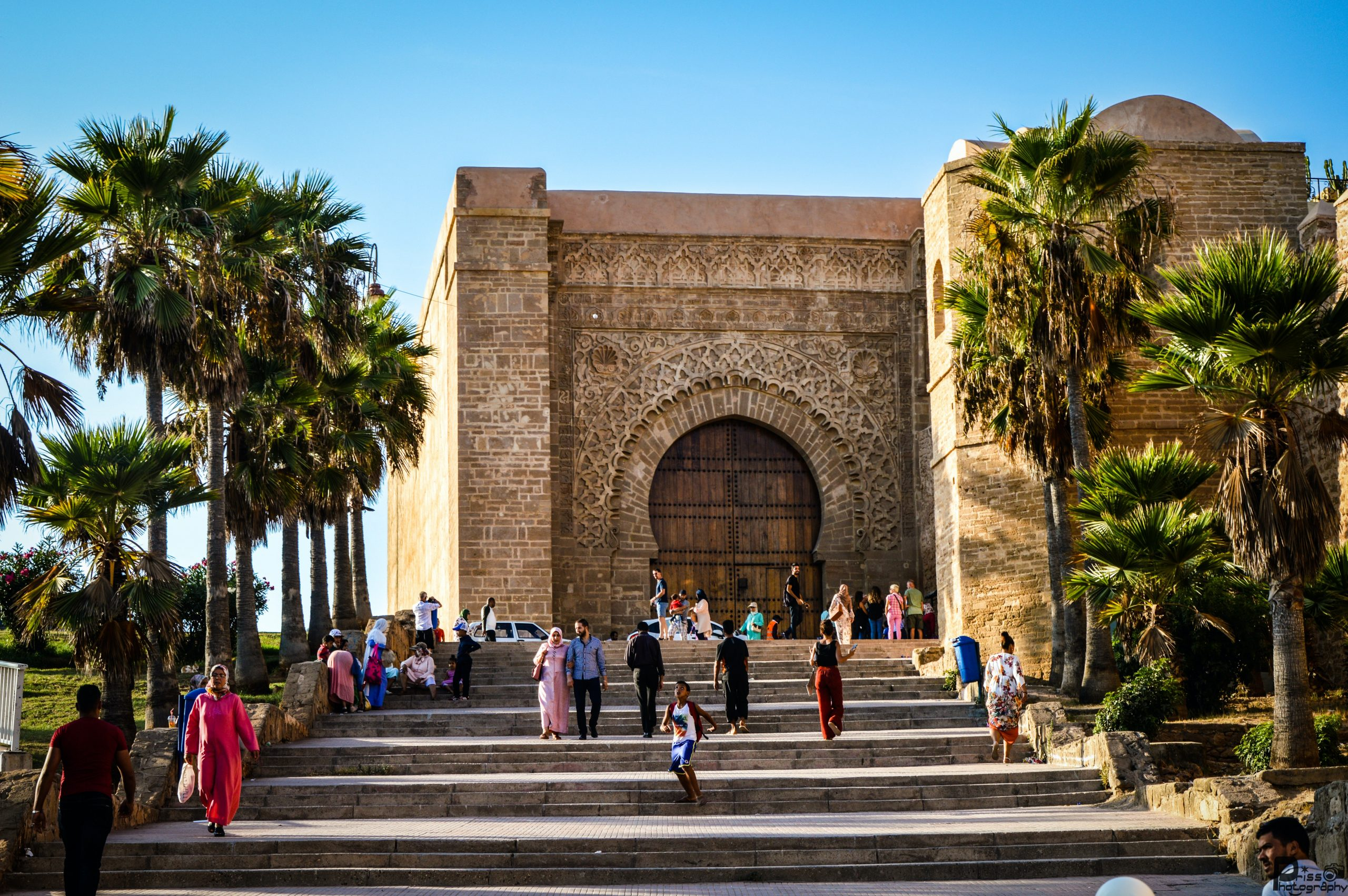 the kasbah of the Udayas in Rabat one of the imperial cities of morocco