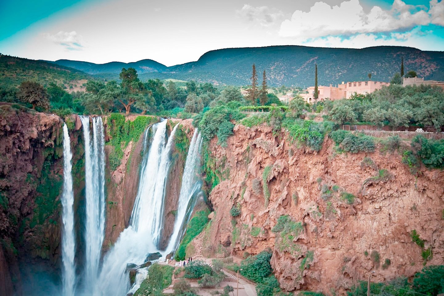 Morocco hiking tour to Ouzoud waterfalls in Morocco