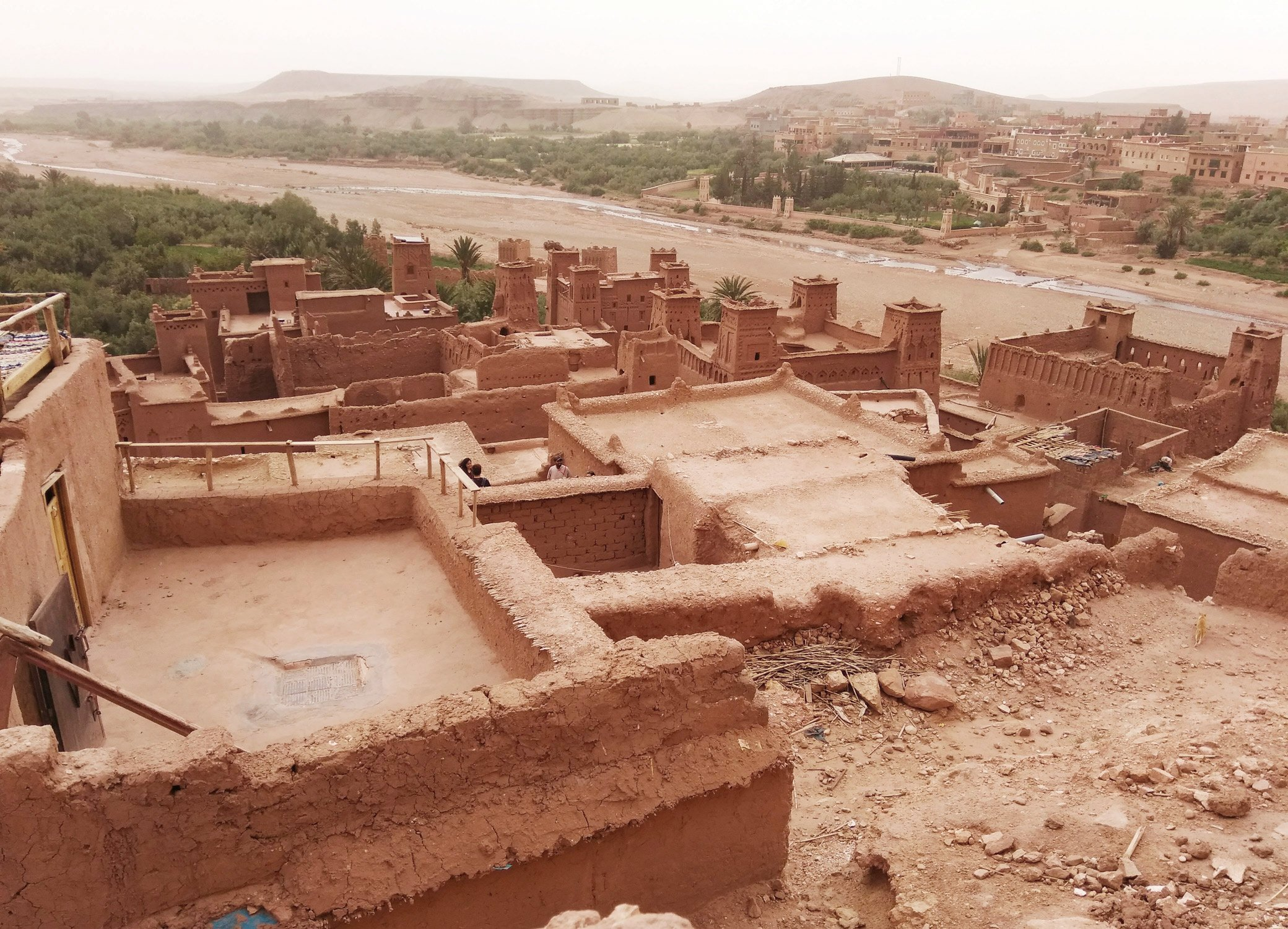 the ksar of Ait Benhaddou fortified village in Morocco