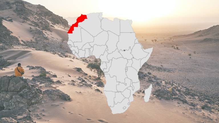 Infographic Blog About 5 Interesting Facts About Morocco