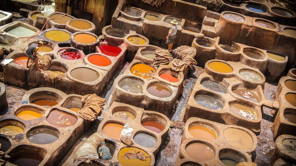 Leather Tannery In Fes Attractions Morocco