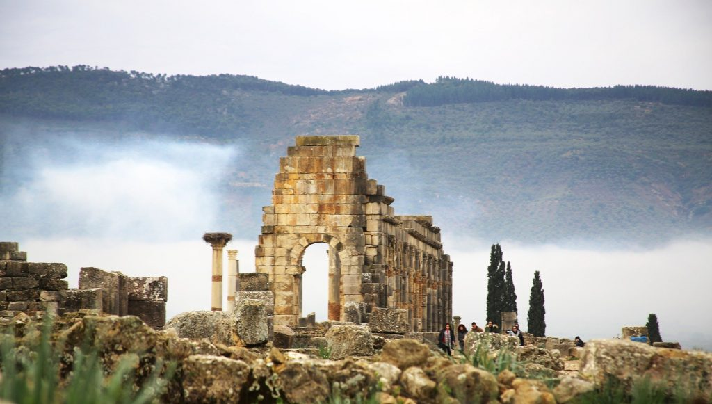 The Roman Ruins Of Volubilis In Morocco, Meknes Attractions